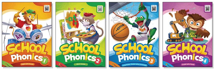 School Phonics - Covers